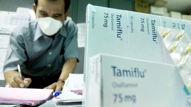 抗病毒藥特敏福