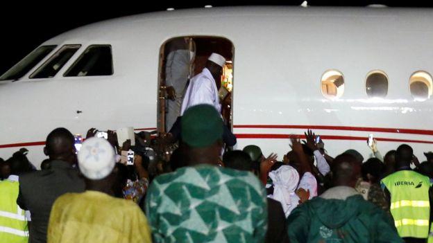 Jammeh deja Gambia