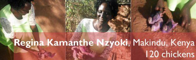 Regina Kamanthe Nzyoki, Makindu, Kenya