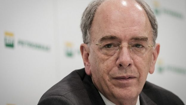 Petrobras CEO, Pedro Parente, October 2016