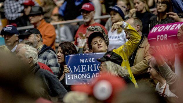 Simpatizantes de Donald Trump
