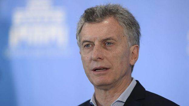 Presidente de Argentina, Mauricio Macri