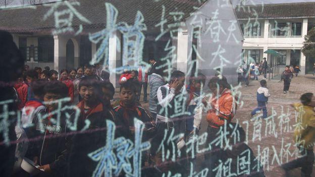 Clase en Shanghái