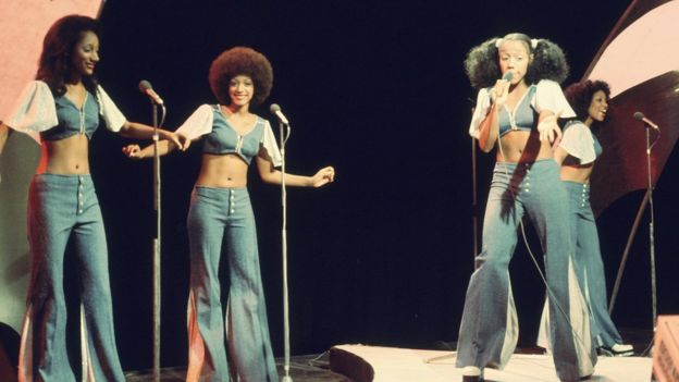 Sister Sledge performing on Top of the Pops