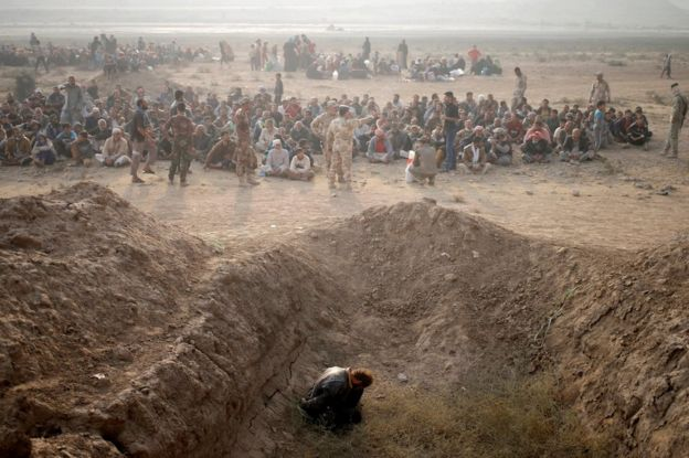 Image result for Mosul battle: 'Iraqi forces' tortured and killed villagers