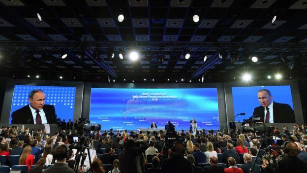 Conferencia anual de Putin