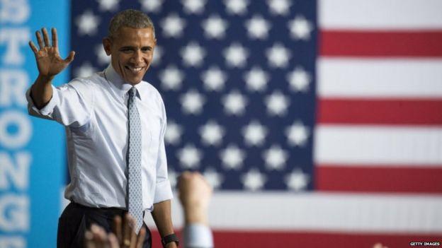 Obama in Ohio