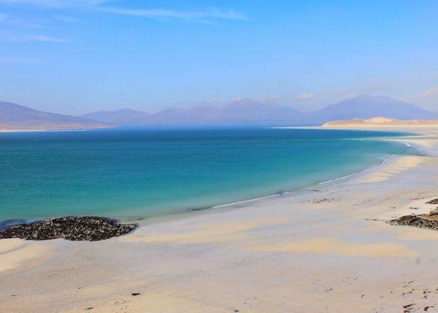 "Susanne Wilson""s picture of Luskentyre Beach on Harris"