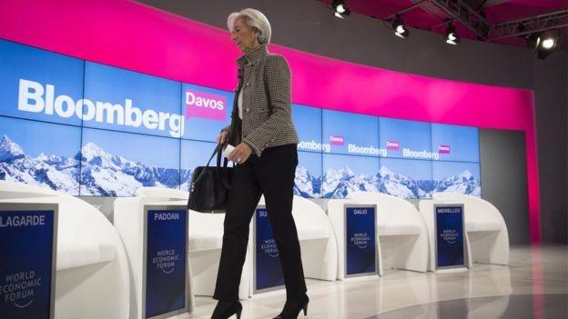 Lagarde em Davos