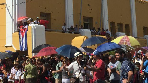 Miles de personas fueron movilizadas para asistir a los funerales.
