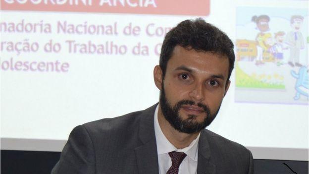 Procurador do Trabalho Rafael Marques: