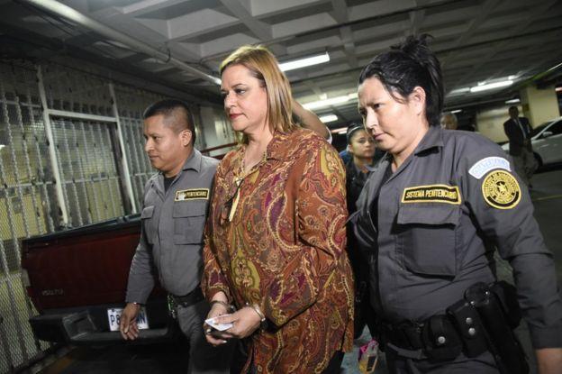 Anahy Keller, la que fuera subsecretaria de Protección y Acogimiento a la Niñez y la Adolescencia, en el momento de su arresto.