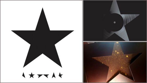 Portadas de Blackstar