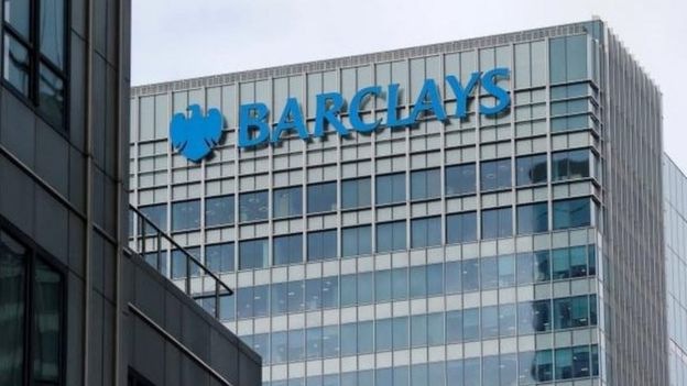 Barclays office in Canary Wharf