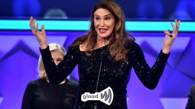 Caitlin Jenner pictured at an event in New York