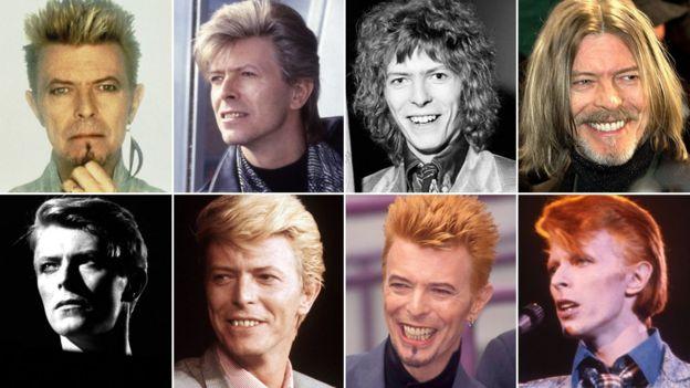 David Bowie a través de los años
