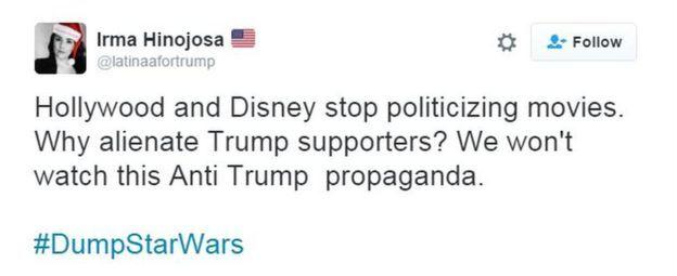 Tuit de Irma Hinojosa