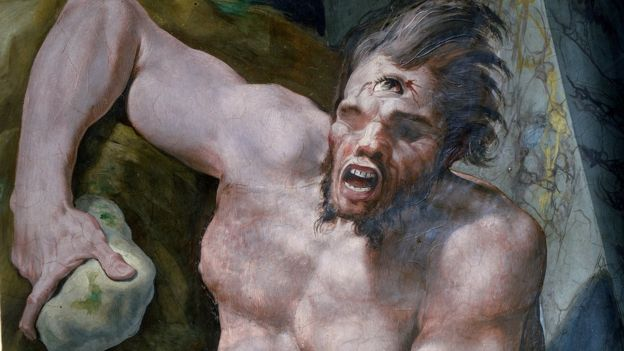 Polyphemus was said to be a man-eating giant