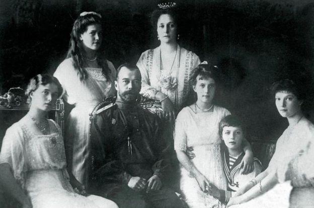 La familia real Romanov
