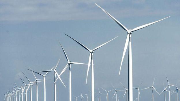 Rüzgar çiflikleri