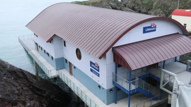 St Davids new lifeboat station