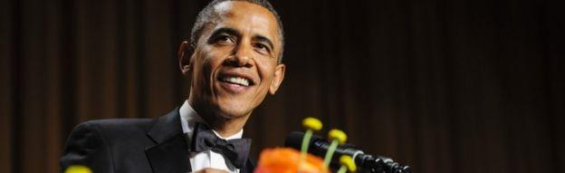 Obama wakati wa hafla ya mwaka 2013