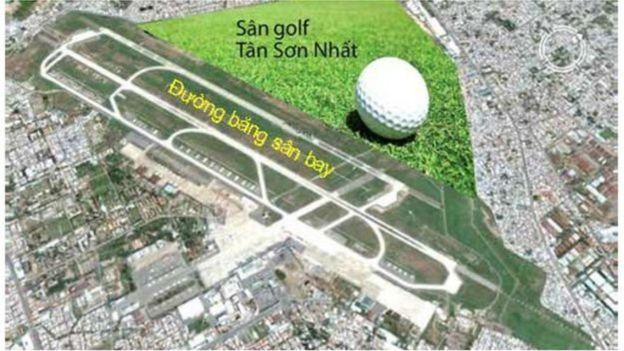 Sân golf ở Tân Sơn Nhất