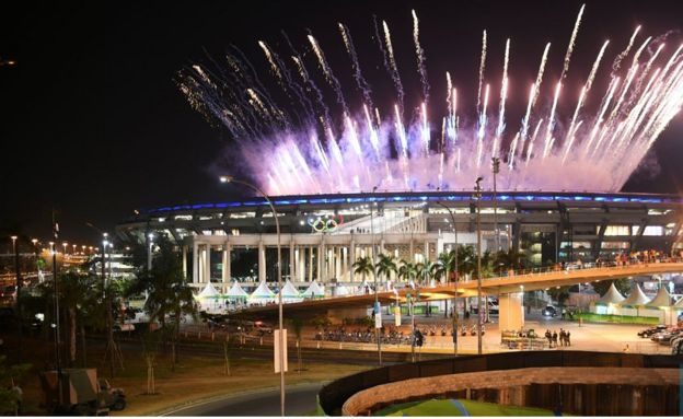 Ufunguzi wa michezo ya Olimpiki ya Rio2016