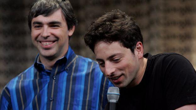Larry Page (izda) y Serguéi Brin (dcha) en una foto de archivo de 2006.