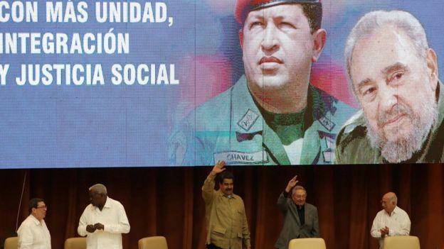 Conmemoración del 12 aniversario de constitución del bloque bautizado como Alianza Bolivariana para los Pueblos de Nuestra América, ALBA.