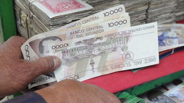 Moneda ecuatoriana