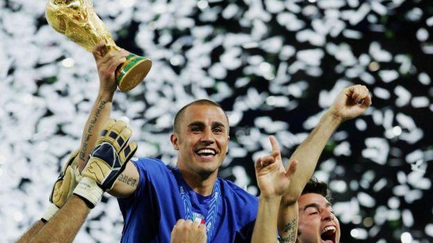 El equipo italiano de fútbol