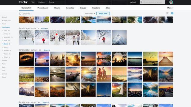 Yahoo принадлежит сайт для хранения и обмена фотографиями Fliсkr