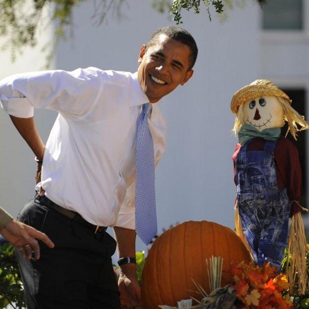 Barack Obama se queja de un dolor de espalda