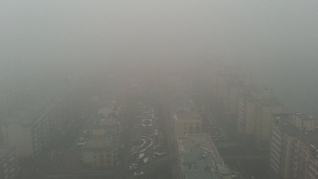 Near East 4th Ring Road, facing west towards Beijing, 2 Dec