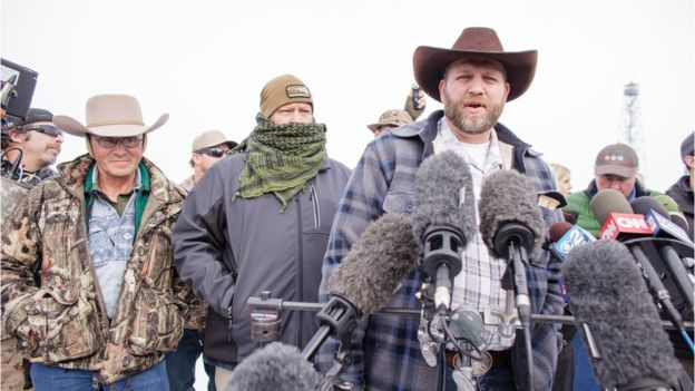 Ammon Bundy speaking