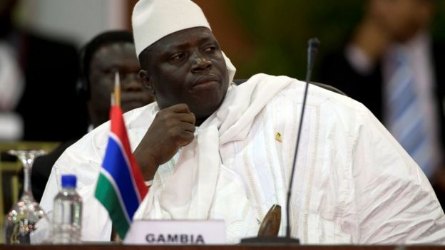 r Jammeh has called for new elections to be held in Gambia