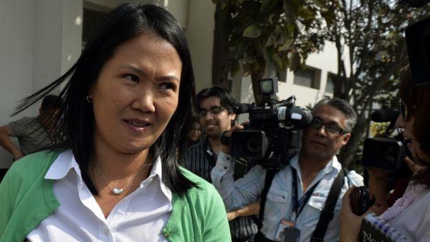 La excandidata presidencial Keiko Fujimori se ha negado a reunirse con el presidente tras haber perdido la elección en junio.