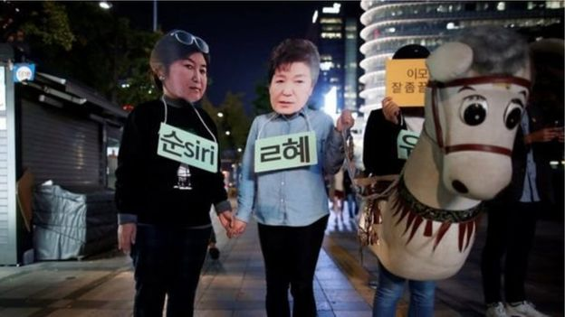 With no immediate family, President Park came to rely too much on her friend, critics claim