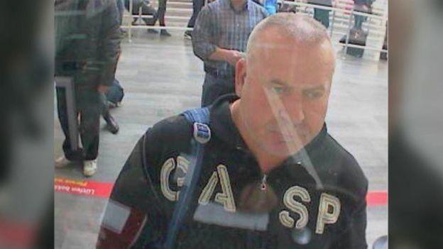 السکاندر اسمیرنوف در فرودگاه استانبول