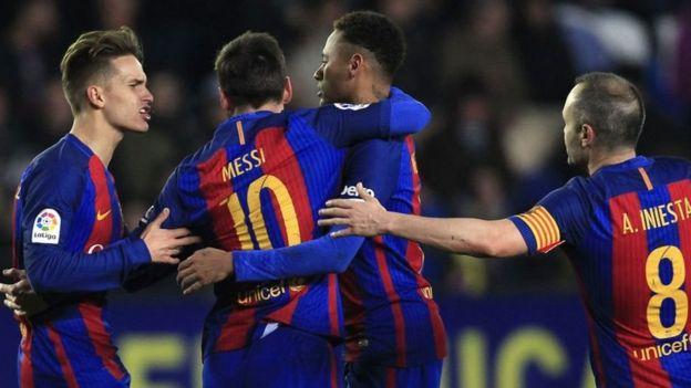 Barcelona inasalia nafasi ya pili