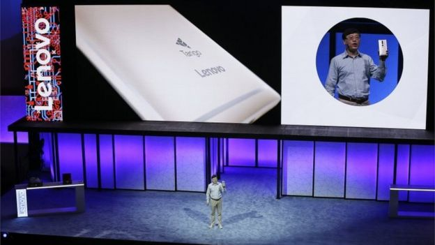 Lenovo press conference