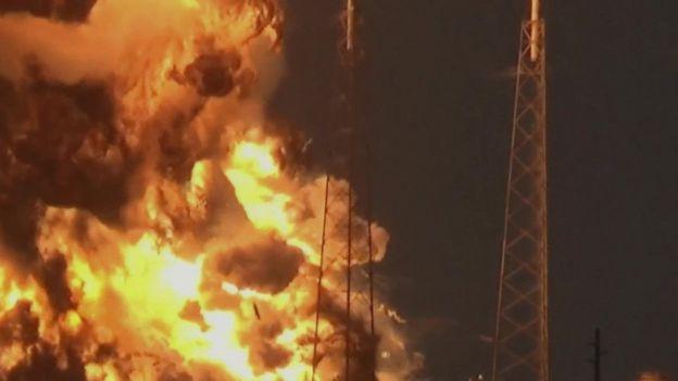 Roketi ya Falcon 9 ilipolipuka