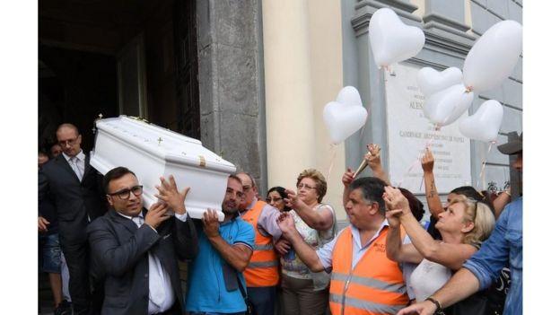 Enterro de Tiziana