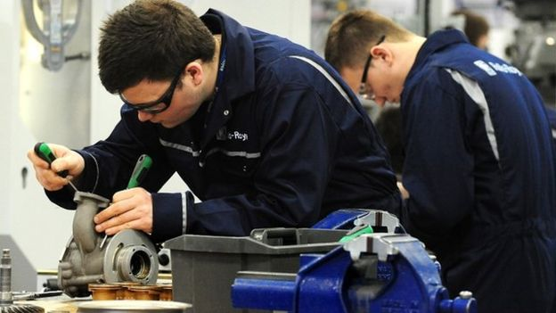 School leavers may also aim to begin apprenticeships