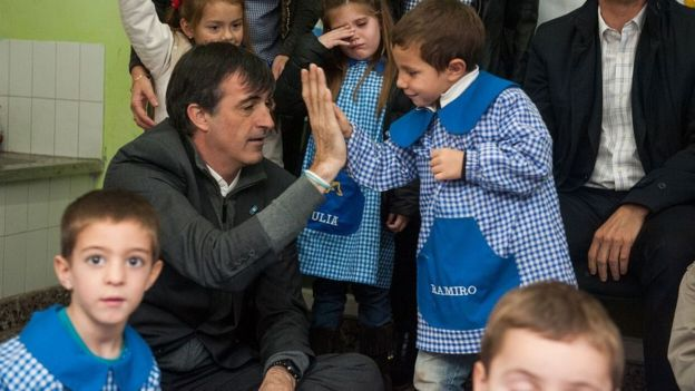 Bullrich in school