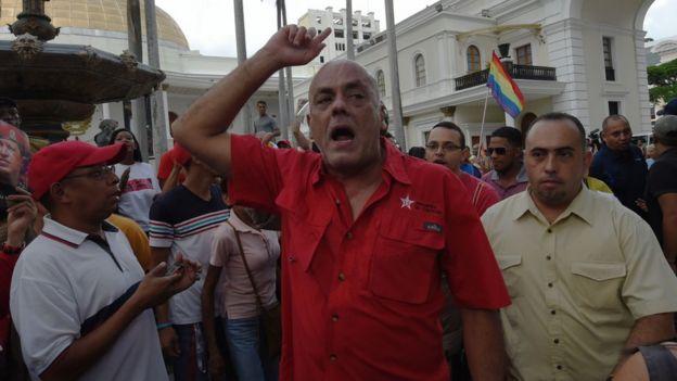 Jorge Rodríguez, alcalde de Libertador, el municipio en el que se encuentra el centro de Caracas.