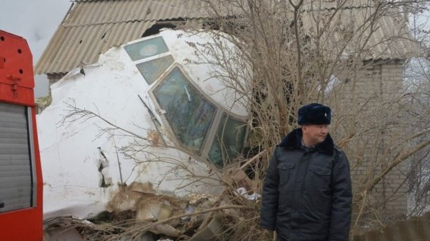 Kyrgyz crash site, 16 Jan