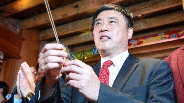 现任副主席,也曾任台北市长的郝龙斌