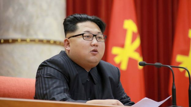 North Korean leader Kim Jong Un attends the 3rd Meeting of Activists in Fisheries under the Korean People